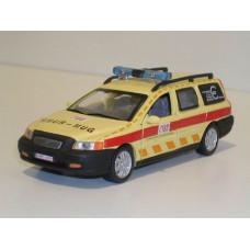 Volvo V70 2000 Ambulance Belgie MUG SMUR Junior 1:43