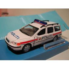 Volvo V70 2000 Politi Noorse Politie Junior 1:43