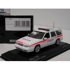 Volvo V70 1998 Police / Politie CH Vaudoise  Minichamps 1:43