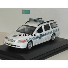 Volvo V70 2000 Gendarmerie Politie Luxemburg Cararama 1:43