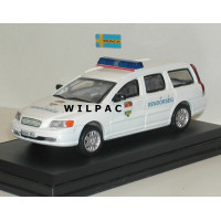 Volvo V70 2000 Rendörseg Hongaarse Politie Cararama 1:43