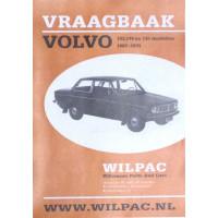 Boek: Volvo 140 Olyslagers Vraagbaak Nederlands herdruk Wilpac A4