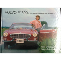 Boek: Volvo P1800 from idea to prototype & production - Engelstalig