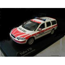Volvo V70 2000 Polizei kanton Schwyz Zwitserland Minichamps 1:43