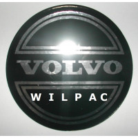3D sticker wieldop Volvo 90 mm CORONA chroom dome