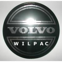 3D sticker wieldop Volvo 90 mm CORONA chroom dome