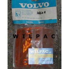 1212790 NOS knipperlicht glas lens Volvo Hella 142 144 145 1973 1974 RV