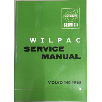 Boek: Volvo 140 Dealer Service Workshop Manual 1968 Engelstalig