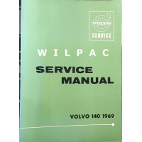 Boek: Volvo 140 Dealer Workshop Service Manual 1969 Engelstalig