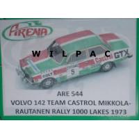 Volvo 142 KIT 1973 1000 meren rally Alen Toivonen Arena #543 1:43
