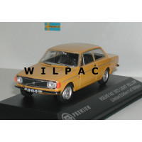 Volvo 142 DL 1973 geel Triple 9 1:43