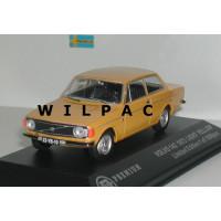 Volvo 142 DL 1973 geel Triple 9 1:43