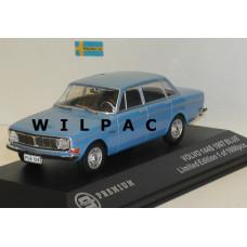 Volvo 144 S 1967 lichtblauw Triple 9 1:43
