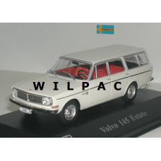 Volvo 145 1969 wit Atlas 1:43