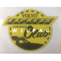 Sticker Volvo 145 Express Owners Club remake