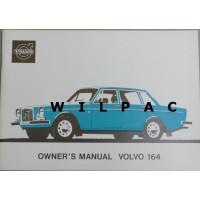 Instructieboekje Volvo 164 1973 Engels