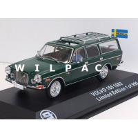 Volvo 165 1972 donkergroen met chauffeur Triple 9 1:43