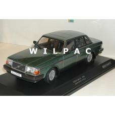 Volvo 240 1:18 240GL 244 1986 groen metallic Minichamps