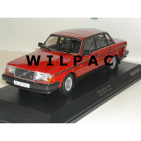 Volvo 240 1:18 240GL 244 1986 rood Minichamps