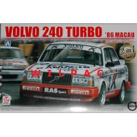 Volvo 240 Turbo Kit TEC 1985 / Macau Guia 1986 Aoshima Beemax 1:24