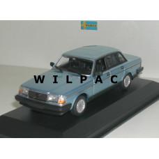 Volvo 240 GL 1986 blauw metallic Maxichamps 1:43