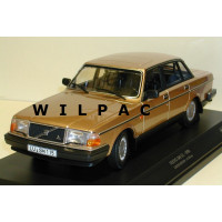 Volvo 240 1:18 240GL 244 goud metallic 1986 Minichamps