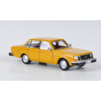 Volvo 244 1978 oranje / geel NEO 1:87