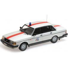 Volvo 240 1:18 240GL POLITIE België 244 Minichamps