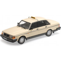 Volvo 240 1:18 240GL 244 TAXI Duitsland beige 1986 Minichamps