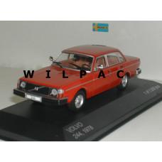 Volvo 244 1978 rood Whitebox 1:43