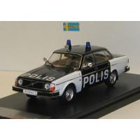 Volvo 244 240 DL 1978 Polis, Zweedse politie Premium X 1:43