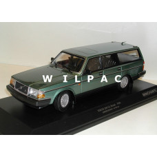 Volvo 240 1:18 240GL 245 Estate 1986 groen metallic Minichamps