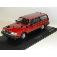Volvo 240 1:18 240GL 245 Estate 1986 rood Minichamps