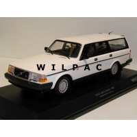 Volvo 240 1:18 240GL 245 Estate 1986 wit Minichamps