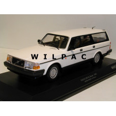 Volvo 240 1:18 240GL 245 Estate 1986 wit Minichamps