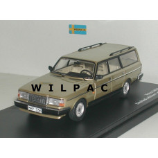 Volvo 245 240 Estate 1988 GL Polar goud met. Triple 9 1:43