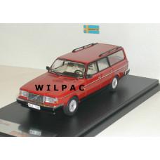 Volvo 245 240 Estate 1988 GL Polar rood Premium X 1:43