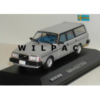 Volvo 240 GLT USA zilvergrijs metallic Atlas #90 1:43