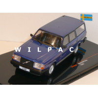 Volvo 245 240 Polar Estate 1988 blauw metallic Ixo 1:43