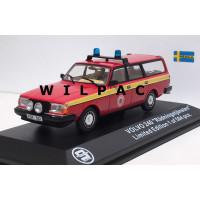 Volvo 245 240 Estate Reddingdienst Mora Zweden Triple 9 1:43