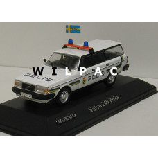 Volvo 245 240 Estate 1983 Polis Zweedse politie Atlas 1:43