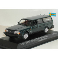 Volvo 240 245 Super Polar Estate 1993 petrol metallic MAXIchamps 1:43