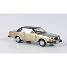 Volvo 262C Bertone goud brons metallic 1979 NEO 1:87