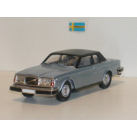 Volvo 262C Bertone blauw metallic 1977 Rob Eddie RE17 1:43