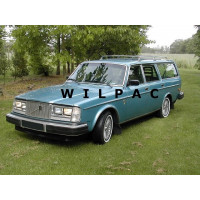 1977 Volvo 265 GLE Automatic modeljaar 1978 1:1 blauw metallic LPG