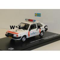 Volvo 343 340 Luchtvaart politie 1982 Schiphol Triple 9 1:43