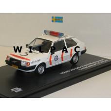 Volvo 343 340 Rijkspolitie 1982 Wieringerwerf Triple 9 1:43
