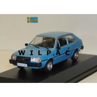 Volvo 343 DL blauw / DeAgostini 1:43