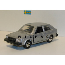 Volvo 343 zilvergrijs metallic Hotwheels Polistil Mattel 1:43