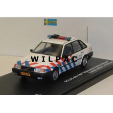 Volvo 440 Type 2 Rijkspolitie 1992 Alkmaar Triple 9 1:43